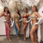 Vancouver Showgirls posing at the city's best casino