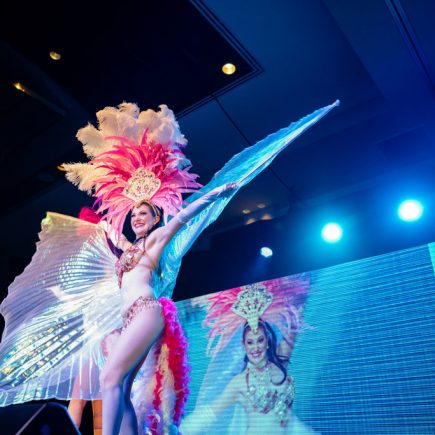 Vancouver Showgirls perform at a Gala Event